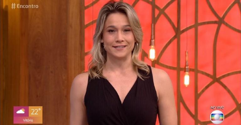 A apresentadora que irá substituir Fátima Bernardes durante essa semana, comentou sobre sua carreira