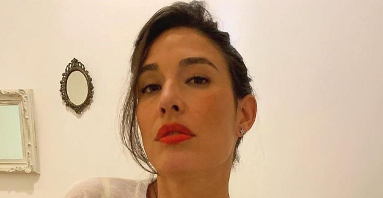 'Ser mãe é ser bipolar', disse a atriz que é mãe de Pedro Luna, de 6 meses