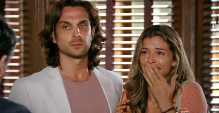 A notícia falsa deixa a noiva de Cassiano em estado de choque