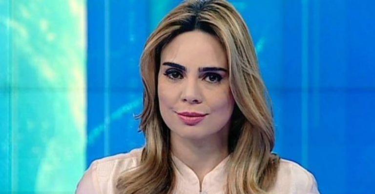 A jornalista deixou a emissora após dez anos de contrato