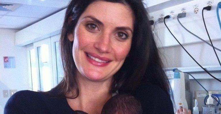A apresentadora relembrou quando entrou em trabalho de parto quando tinha apenas 27 semanas de gestação