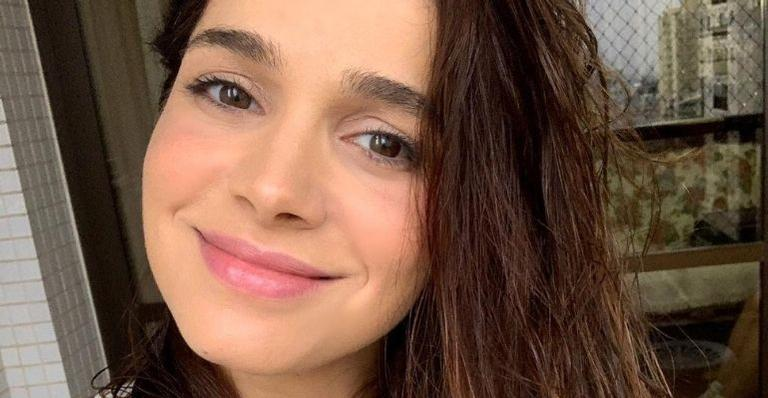 A atriz recebeu uma chuva de elogios ao exibir barrigão de 8 meses: 'A grávida mais linda do ano'