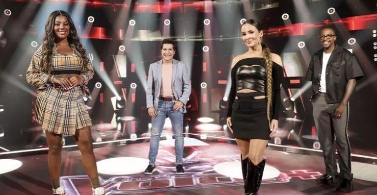 O reality musical terá Daniel, Claudia Leitte, Mumuzinho e Ludmilla como técnicos