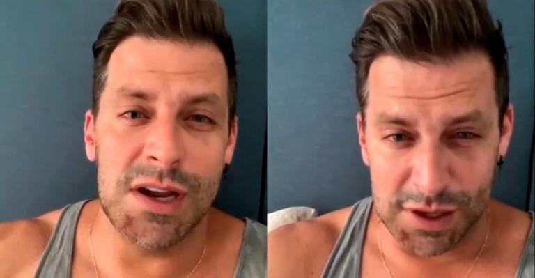 Em lágrimas, ator contou que teve fratura exposta na mandíbula após ataque em Alagoas
