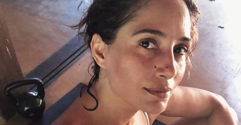 A atriz compartilhou uma produção que fez ao lado do beauty artist, Ale de Souza