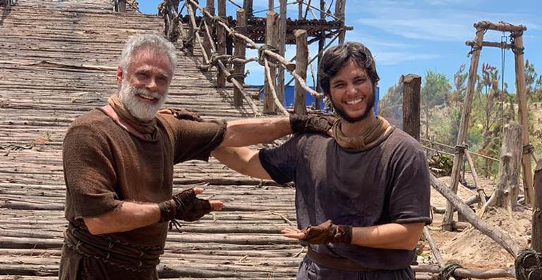 Ator divide o personagem Noé com Oscar Magrini: 'O frio na barriga é real'