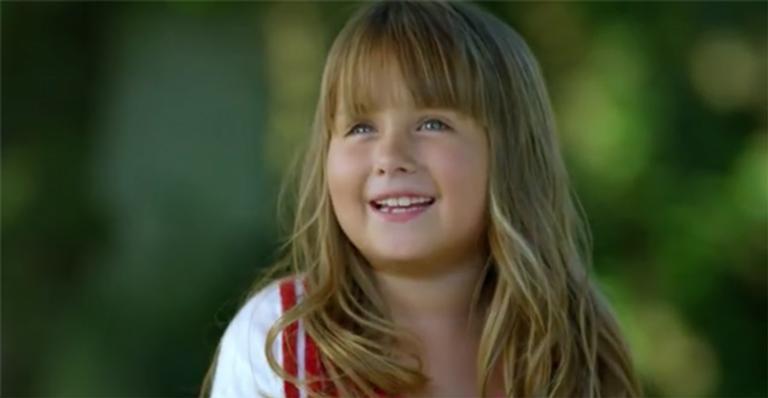 Hoje em dia, Jesuela Moro já é uma adolescente e quer voltar a atuar na TV