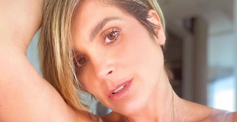 Flávia Alessandra ostenta suas curvas na web e recebe elogios