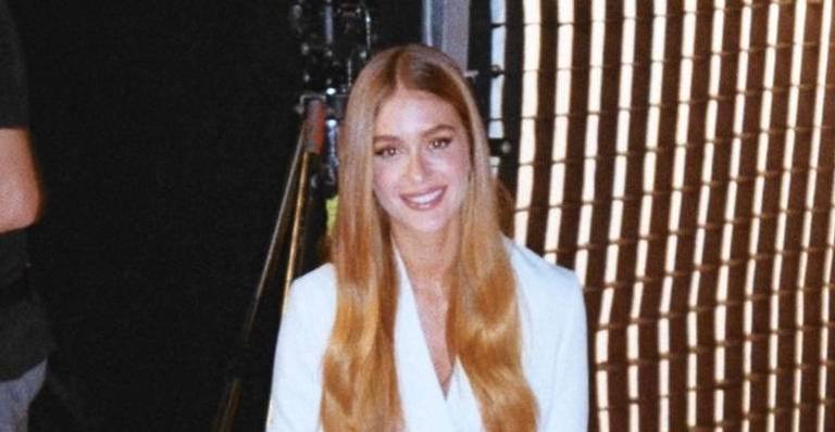 Marina Ruy Barbosa agita a internet após troca de mensagens com possível cunhada