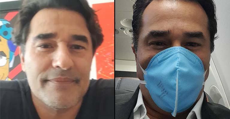 Pai de Sasha Meneghel Szafir, o ator Luciano Szafir teve os pulmões comprometidos pelo coronavírus