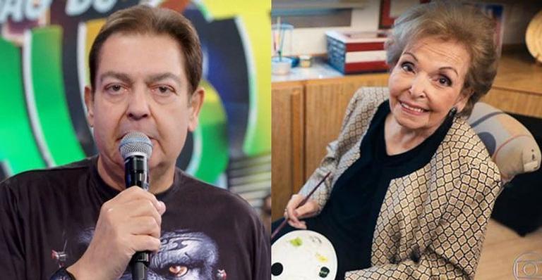 Em novembro, o apresentador chegou a fazer uma homenagem a ela no Domingão