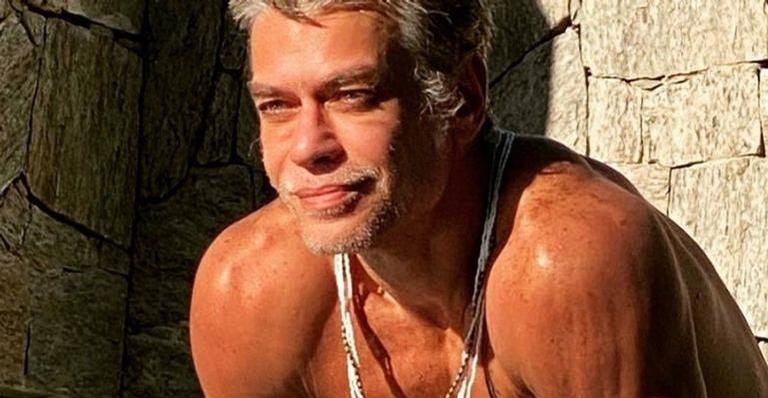 Fábio Assunção mostra fotos da esposa e se declara na web: 'Só vejo amor'