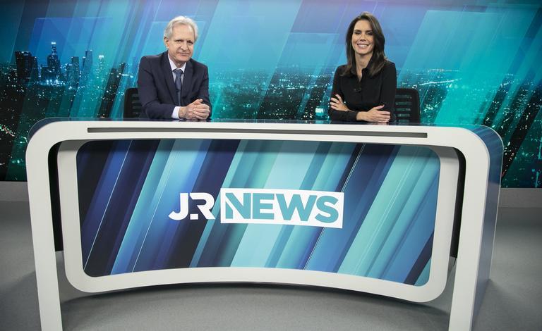 Augusto Nunes e Camila Busnello estreiam no Jornal da Record News