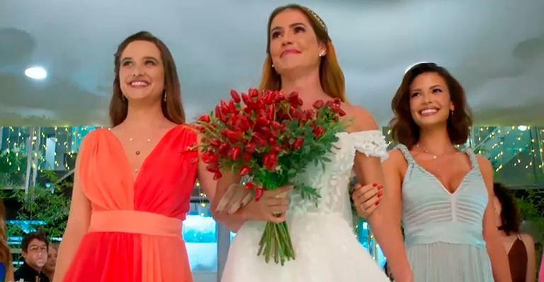 Alexia e Zezinho se casam no último capítulo de Salve-se Quem Puder e ainda vão rolar muitas emoções!