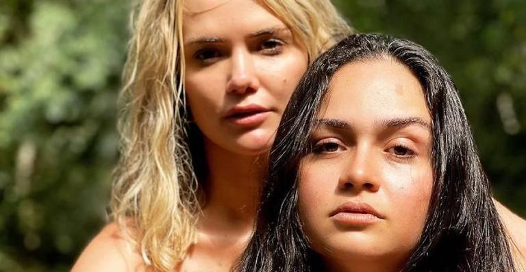 Marcela McGowan e Luiza falam que planejam se casar e terem filhos