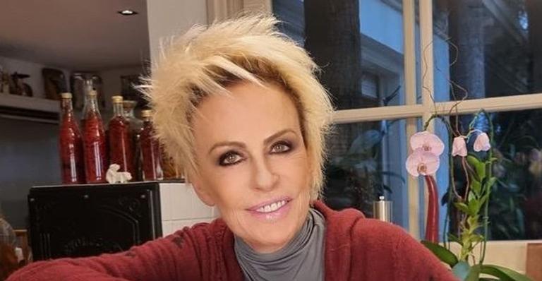 Nas redes sociais, a apresentadora fez uma declaração de despedida ao filho de Roberto Carlos