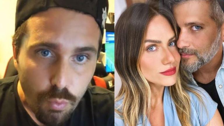 """Em entrevista para o podcast """"4 Talk Cast"""", o irmão de Bruno Gagliasso revelou que a cunhada é uma pessoa difícil de lidar"""