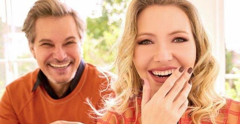 O ator confirmou que Karin Roepke está grávida e revelou que já sabem o sexo