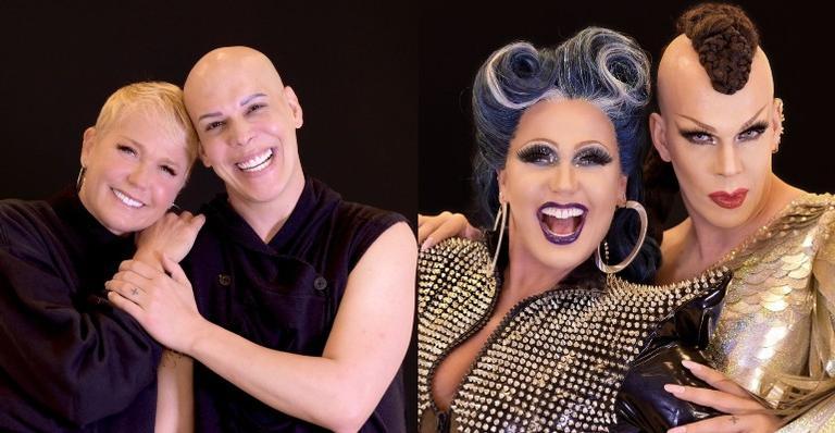 Xuxa e Ikaro Kadoshi vão apresentar um reality show com artistas drag durante uma viagem pelo Brasil em um ônibus totalmente decorado