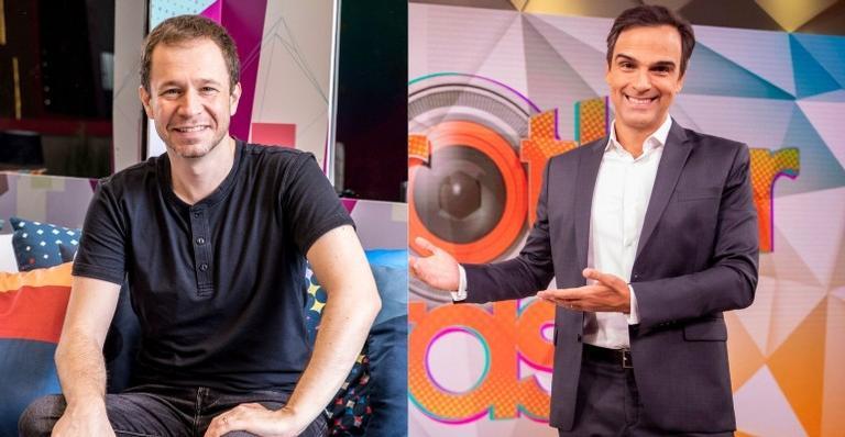O ex-apresentador do Big Brother Brasil ainda aconselhou Tadeu Schmidt sobre os participantes: 'Não deixa eles pipocarem'