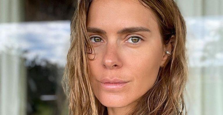 A atriz resgatou uma foto em Miami e deixou os fãs encantados com o registro