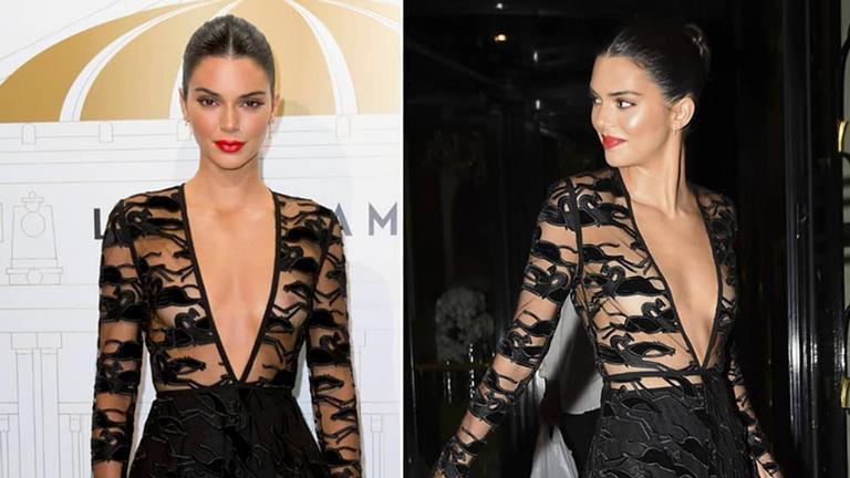 Kendall Jenner abalou as estruturas em Paris