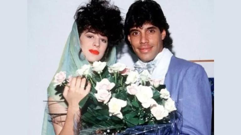 Cláudia Raia e Alexandre Frota foram um dos casais mais famosos da TV nos anos 80